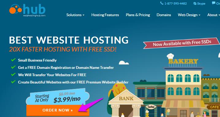 WebHostingHub Get Started