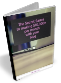 The Secret Sauce to making $10,000 per month