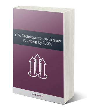 Technique to grow blog Book