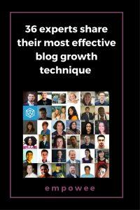 Pinterest blog growth technique